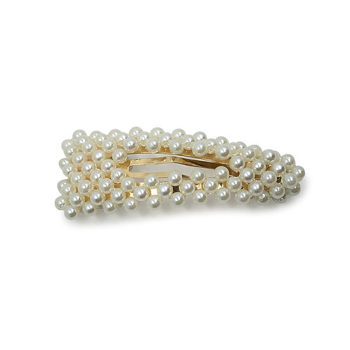 Small Pearl Snap Clip - Hair Accessories Australia - JODIE DAY