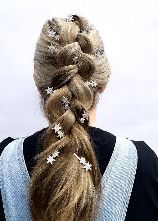 Reverse Braid Hairstyle - How To Wear Hair Clips - BEAU MANE