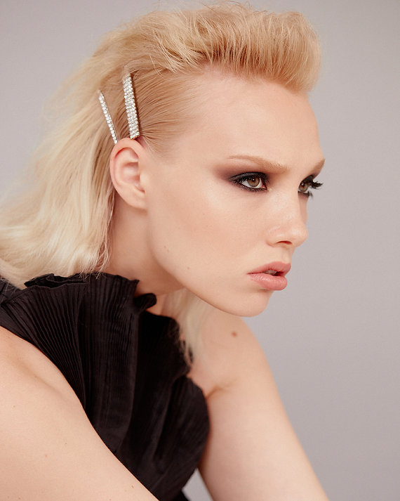 Edgy Glam Hairstyle - Hair Clip Hairstyles - BEAU MANE