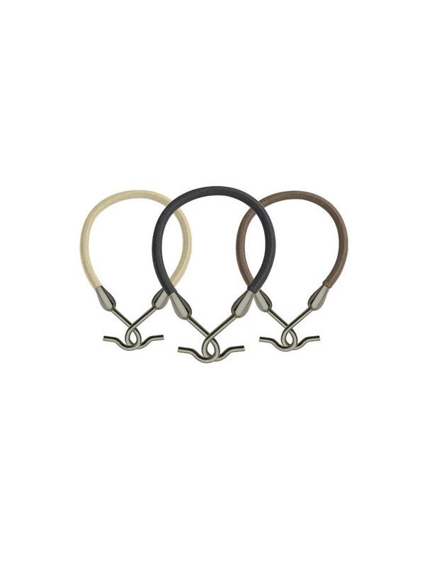 Hair Bungee Hair Elastic with Hooks to secure Ponytail