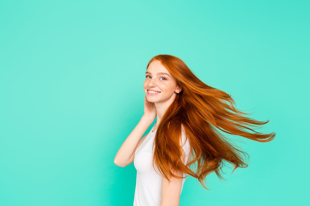 Improve hair elasticity by reducing heated styling tools and chemical treatments