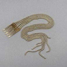 Nora Pearl Chain Bridal Comb