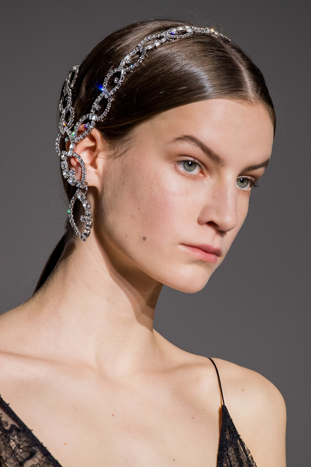 Givenchy Spring 2019 Couture Collection head jewellery