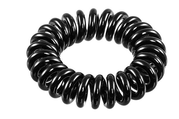 Rubber Coil Hair Tie - Hair Care Blog