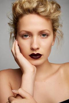 Photographer: Carlo Fernandes Makeup: Stacey Ann Cameron Jane Makeup Design Hair: Jodie Day Model: Myka