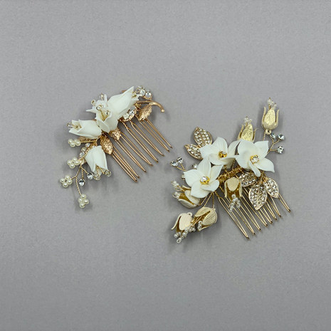 Lily Wedding Hair Comb Set