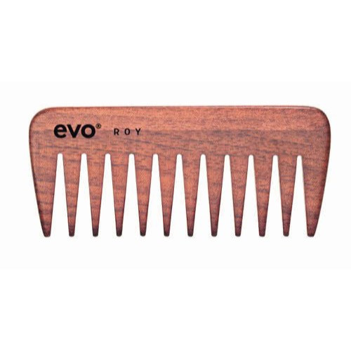 Evo Roy Wide Tooth Wooden Detangling Comb