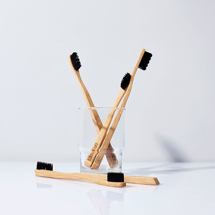 Life Basics Wooden Toothbrush - Professional Hairstyling Kit Equipment - Australian Hair Blog