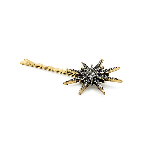 Large Boho Star Hair Clip - Bridal Hair Pins - JODIE DAY