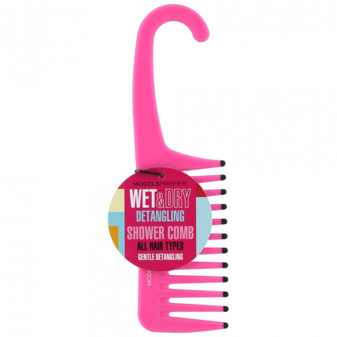 Models Perfer Wet and Dry Detagling Shower Comb