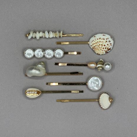Seashell Bridal Hair Pin Set