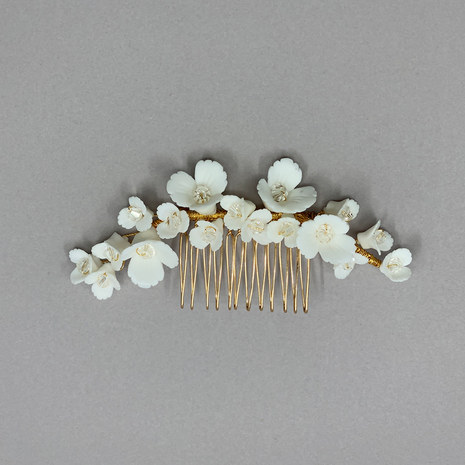 Odette Wedding Flower Hair Comb