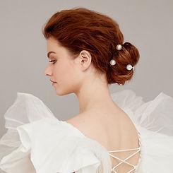 Bridal Hair Clips - Wedding Hair Accessories - Pearl Hair Clips - JODIE DAY.jpeg