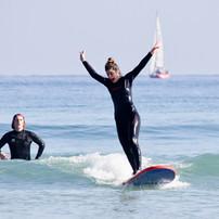 cours de surf take off