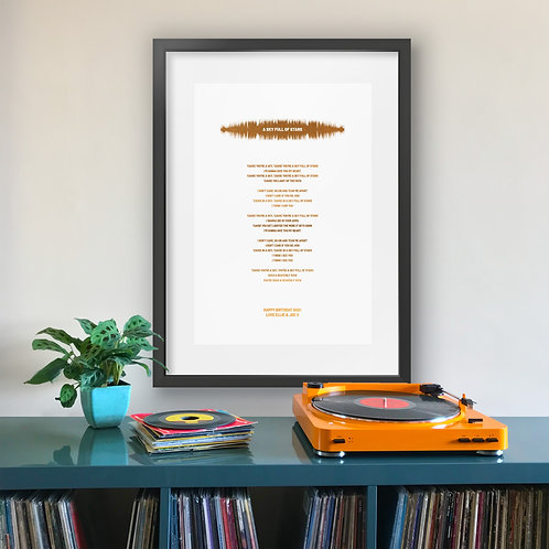 Song Lyrics Favourite Song