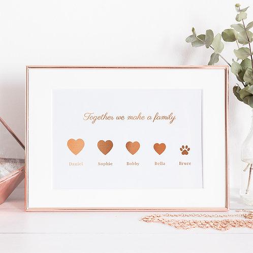 Family & Pet Names