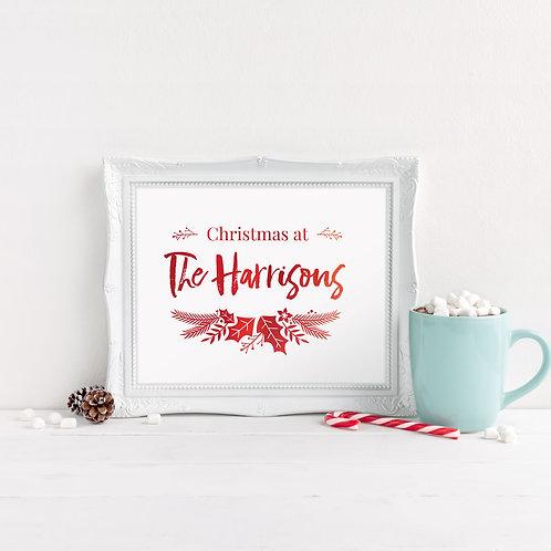 Christmas at... (Holly)