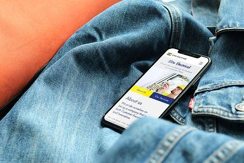 elite-electrical-web-design-iphone-web-d