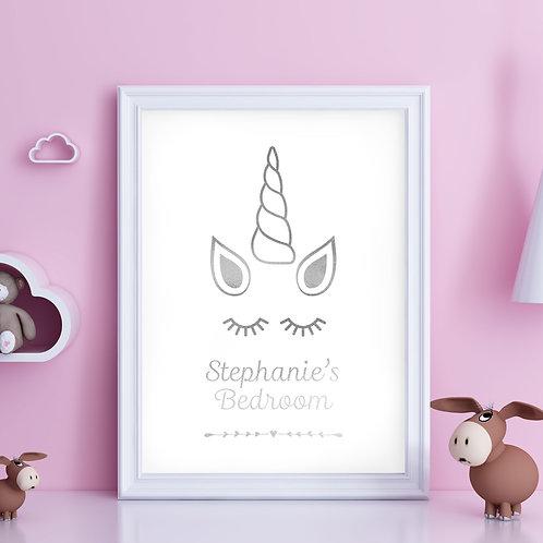 Unicorn Name & Bedroom