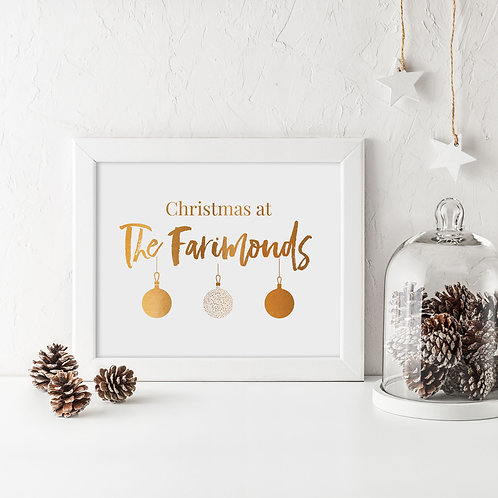 Christmas at... (Baubles)