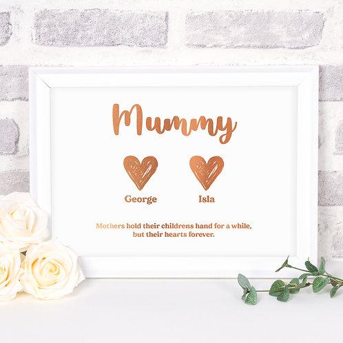 Children's Names Mum Gift