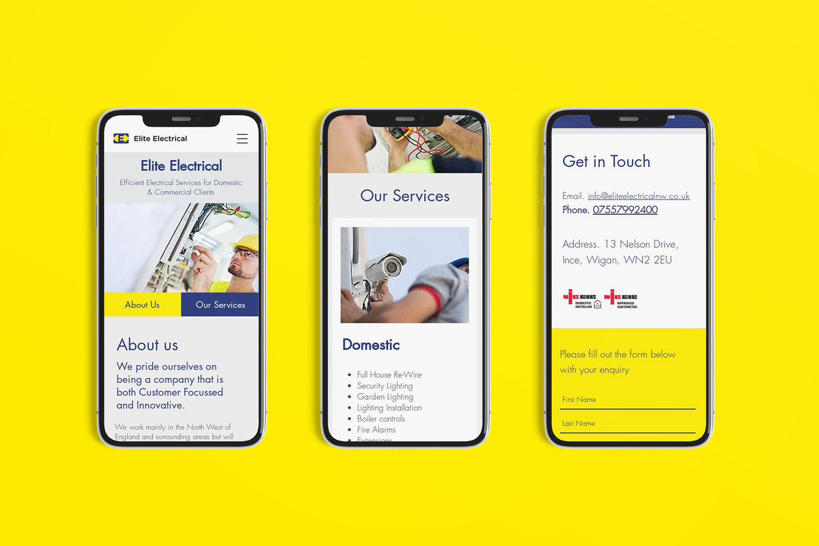 web-app-3-screens-elite-electrical-web-d