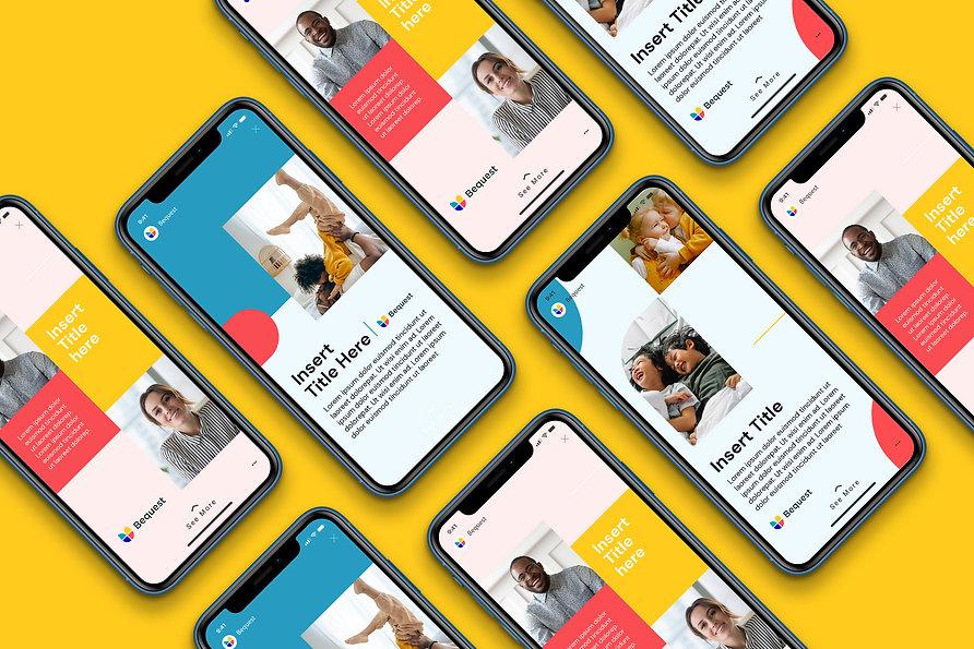 bequest-facebook-stories-template-design