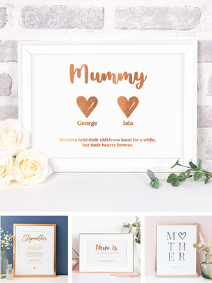 Prints for mum