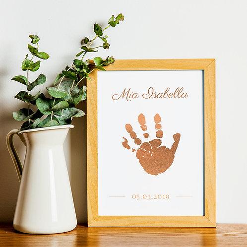 Foil Handprint Kit (size A5)