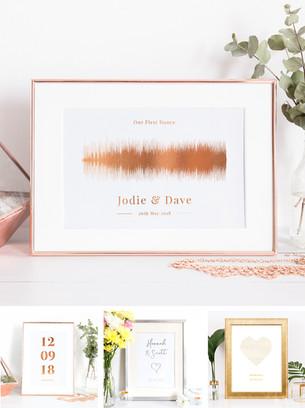 Wedding Gift Prints