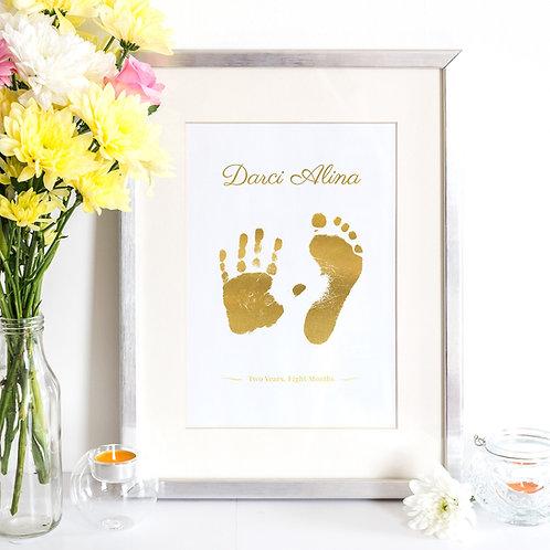 Foil Hand & Footprint Kit