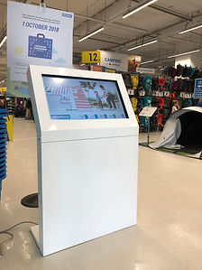 Retail mall digital directory