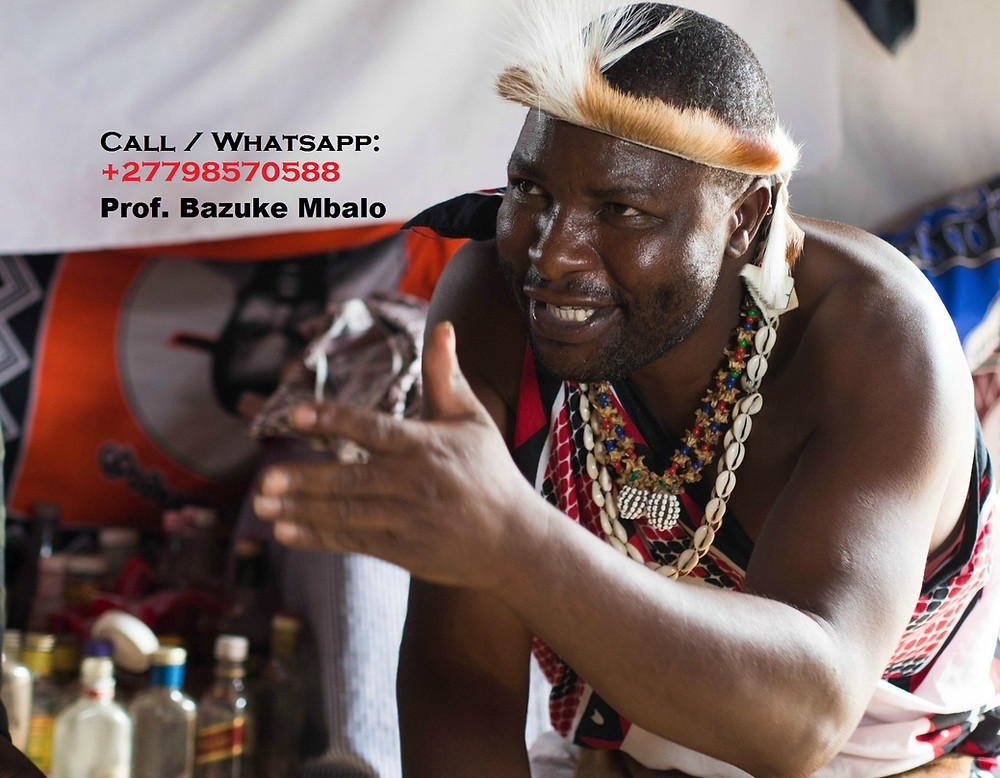 "Prof. BAZUKE MBALO '+27798570588'. Is unique Traditional herbalist healer, Lost Love Spell Caster, Sangoma like no other; Am regarded by many as the Greatest healer of this generation; # Bring back lost lover in (3days). # Strong love spells/Marriage spells # Do you want divorce or stop it? # Make him/her love yours alone. # Business and money boosting and customer attraction # Stop court cases(same day) # Do you have pregnancy complications? # Get a partner of your choice (3days). # Job and job promotion # Remove bad luck # Remove tokoloshe, cleansing of homes premises. # pass all assignments: Work interviews, school exams, soccer interviews  # win all chance games (lotto, casino, soccer bet, etc) # ultimate magic powers for Leadership, preachers(fellowships), sangomas DETAILED INFORMATION: CALL/WHATSAPP Prof. BAZUKE MBALO ' +27798570588 ' Email me: prof.mbalobazuka@gmail.com Visit my website: https://www.best-traditional-herbalist-healer.com/  NOTE: ""I HELP AND DO DELIVERIES TO PEOPLE ACROSS THE WHOLE WORLD"". #BestMagicWalletforMoney #BestLoveSpellsCaster #BestPSYCHIC #BestPenisEnlargementMedicine #BestPowerfulSangoma #GreatTraditionalSpiritualHerbalistHealer #GreatSpiritualHealer"