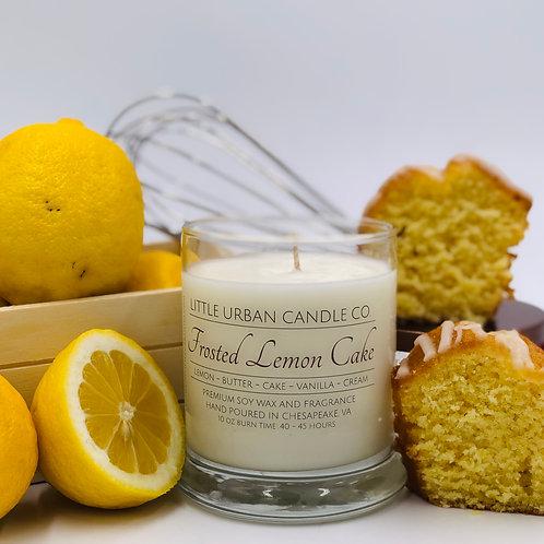 Frosted Lemon Cake Soy Candle