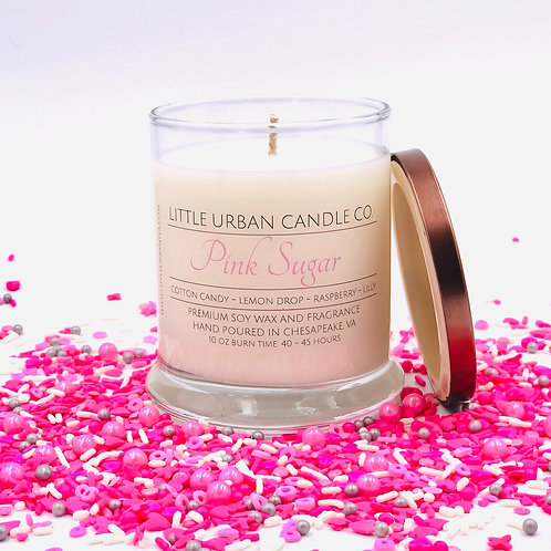 Pink Sugar Soy Candle