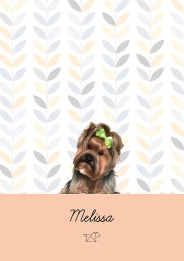 Estampa Melissa