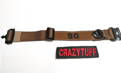 """1.75"""" Tactical Soft Collar - Velcro ID Patch"""