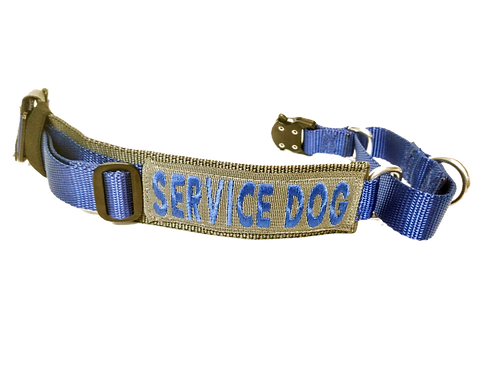 """Tactical Martingale Dog Collar 1.75"""" wide"""