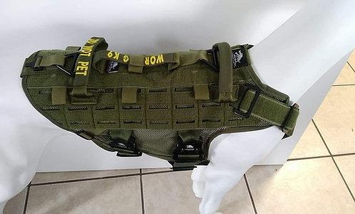 Vapor M1  4-Point K9 Harness - Patrol, SAR, Training and Deployment