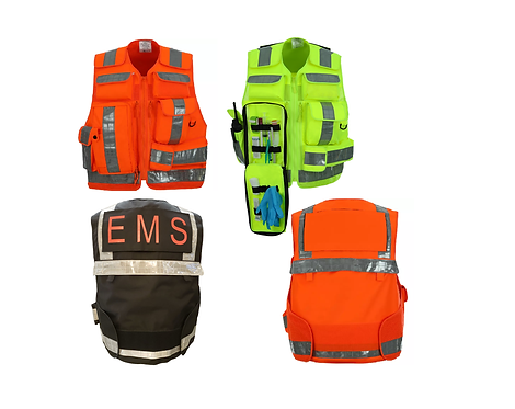 First Responder SAR Vest - One Size Fits ALL