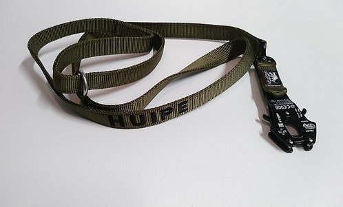 3 foot - 2-Ply Lead with Kong Frog Snap - Custom Made to Order
