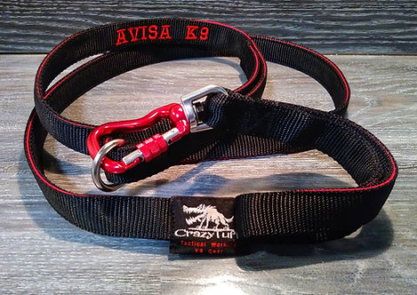 Single Handle 3-Ply Tactical Lead / Leash - Custom Made to order