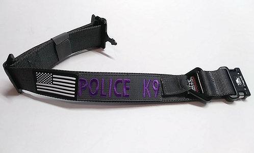 "Tru-Tactical Dog Collar 1.75"" w.   -  Sewn in ID Patch - Two Layer Collar"