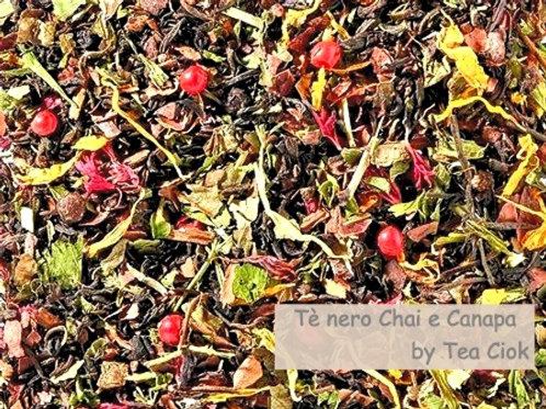 Tè Nero Chai e Canapa
