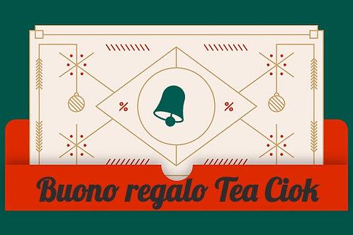Regala un Buono Tea Ciok