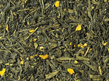 tè verde alla pesca