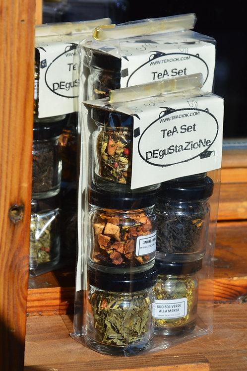 Set degustazione tè e tisane