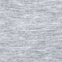 Real heather grey knitted fabric made of