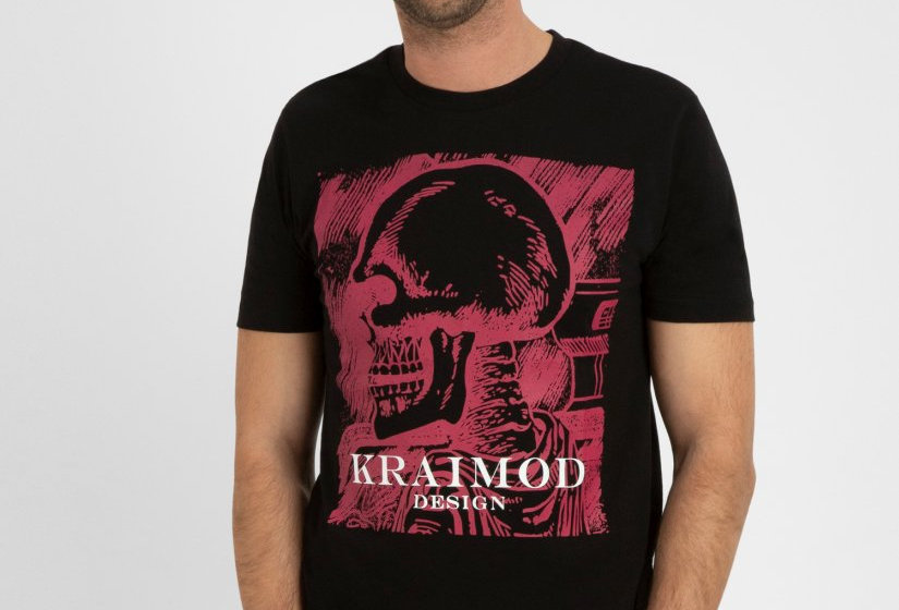 T-Shirt Pink Scull