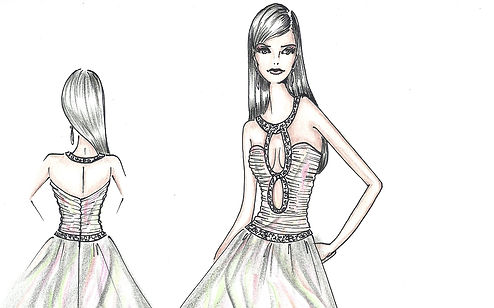 Fashion World by Kraimod fashin and apprel designing contes, cometition, project 2018, 2019. International fashion sketch book.